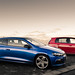 VW Scirocco R & Golf GTi R: 4 Degrees C and considering whether or not chocolate rusks will help heat us up just before dawn.