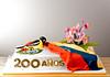 200 anos Venezuela (Betty´s Sugar Dreams) Tags: orchid germany coatofarms venezuela hamburg crest cattleya orchidee zucker blüten wappen troupial 200años sugarflowers motivtorten betty´ssugardreams bettinaschliephakeburchardt