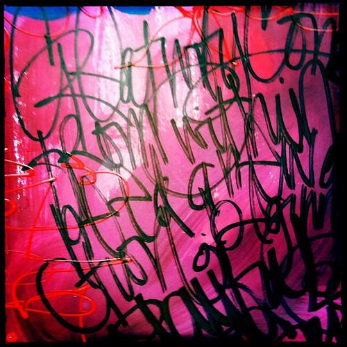 graffiti in my journal