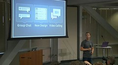 Marck Zuckerberg y las nuevas funciones de Facebook, grupos de chat, diseño de chat y videollamadas