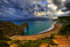 Durdle Door (James Neeley) Tags: uk england landscape dorset hdr durdledoor jurrasiccoast 5xp jamesneeley