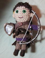 Illia doll - D&D Bard -  with longbow