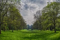 mayday. (angsthase.) Tags: light sky green graveyard clouds germany landscape deutschland licht spring shadows cemetary himmel wolken nrw grün schatten ruhrgebiet dortmund 2014 ruhrpott mft hauptfriedhof micro43 epl5 olympuspenepl5 olympusm25mmf18