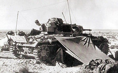 "Desert camping in a Panzer III • <a style=""font-size:0.8em;"" href=""http://www.flickr.com/photos/81723459@N04/13996378207/"" target=""_blank"">View on Flickr</a>"