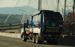 Surrey BC (Ian Threlkeld) Tags: canada nikon driving bc refuse garbagetrucks portmannbridge wastedisposal d80 progressivewastesolutions