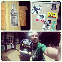 """Loving my #boldt stickers from  @alchemydistillery. • <a style=""""font-size:0.8em;"""" href=""""http://www.flickr.com/photos/99295536@N00/14033347407/"""" target=""""_blank"""">View on Flickr</a>"""