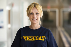 Fiveland, Nathalie - fiveland (Michigan Engineering Portraits) Tags: michigan annarbor engineering uofm northcampus engineer a2 umich coe universityofmichigan collegeofengineering biketoworkday mgoblue aoss umsocial michiganengineering umichsocial