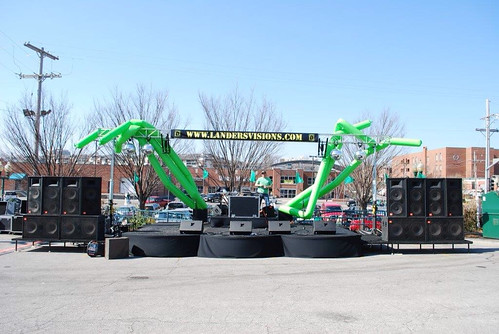 Westport Saint Patricks Day Stage with Mix93