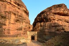 India - Karnataka - Badami Caves - 16 (asienman) Tags: india architecture caves karnataka badami chalukyas vatapi asienmanphotography