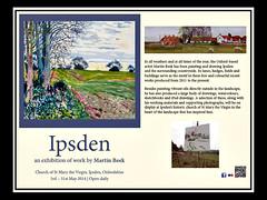 Ipsden, Oxfordshire (Oxfordshire Churches) Tags: uk england artwork unitedkingdom paintings panasonic artists oxfordshire invitations mft ipsden martinbeek johnward micro43 microfourthirds lumixgh3