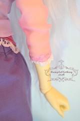 Tangled- Rapunzel (RumpleClothing) Tags: doll princess mini disney bjd rapunzel fairyland tangled fee rumple rumpleclothing