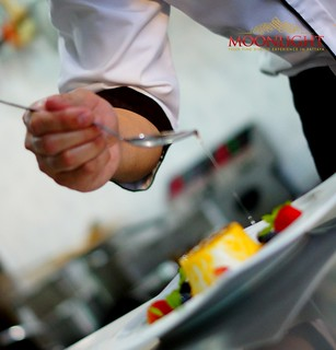 Moonlight Pattaya - Pannacotta preparation 8