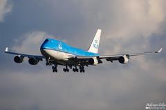 KLM --- Boeing 747-400 --- PH-BFN (Drinu C) Tags: adrianciliaphotography sony dsc hx100v ams eham plane aircraft aviation klm boeing 747400 phbfn 747