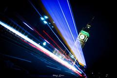 London - Big Ben in the Night (graser.robert) Tags: london bigben big ben night shot nightshot light lights lines britain greatbritain elisabeth tower nacht langzeitbelichtung licht lichtzieher streifen longexposure nachtaufnahme robert graser photo westminster glocke turm glock schwarz blau black blue