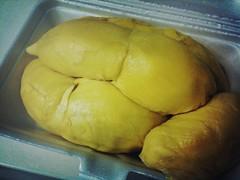 Super Kun Yu (Kunyit) Durian 坤玉榴梿