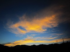 Paint the  sky (MelindaChan ^..^) Tags: china sunset sky cloud color weather gold golden evening colorful paint dusk mel melinda kunming yunnan   chanmelmel melindachan