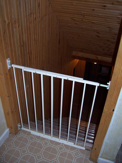 gate to basement