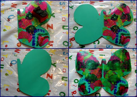 The Very Hungry Caterpillar Craft Ideas Butterflies