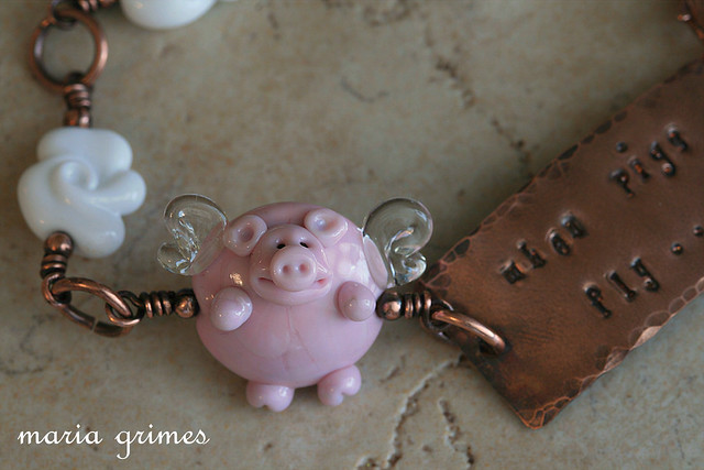 When Pigs Fly Bracelet