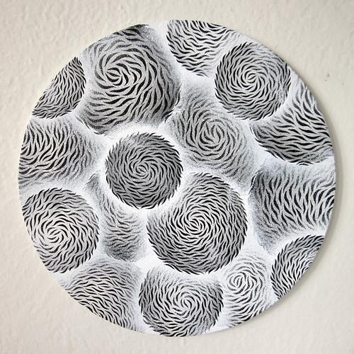 """12"""" round canvas"""