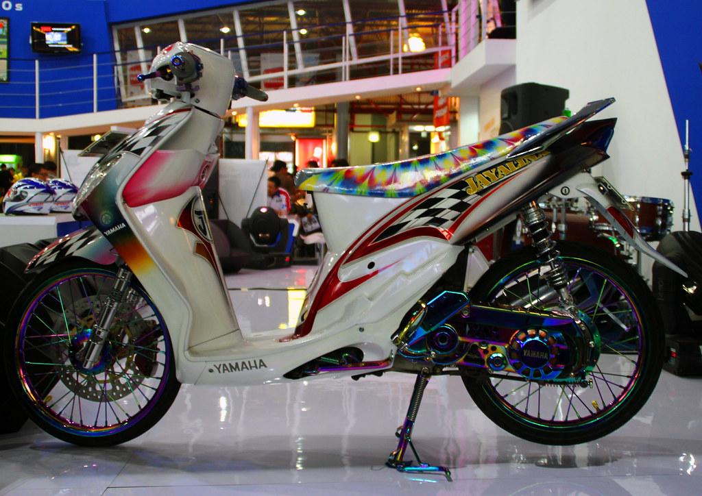 Gambar Modifikasi Motor Mio Sporty