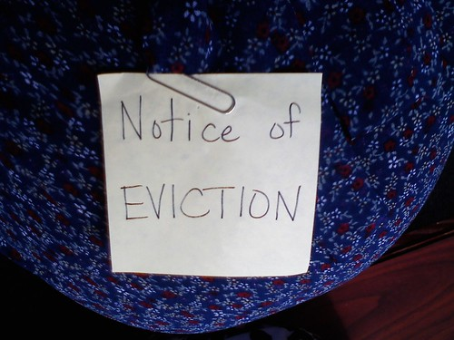 Eviction Notice for Pickles