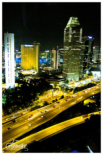 view from SG Flyer