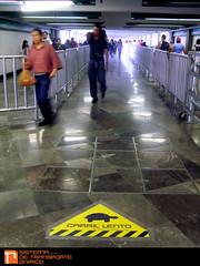 CARRIL LENTO (MXICO DF 26 JUNIO 2011) (Aticolunatico) Tags: df metro tortuga prisa deriva lento redretro situacionismo carrillento sistemadetransporteonirico subversionsealetica