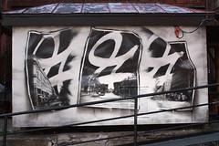 Helsinki Greetings, 2011, spray can & handcut stencils