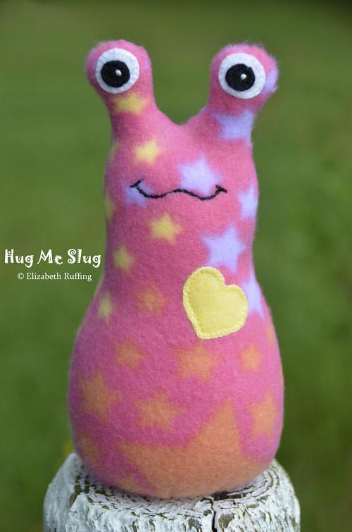 Hug Me Slug Art Toys by Elizabeth Ruffing
