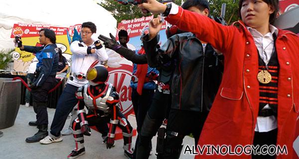 Team Kamen Riders