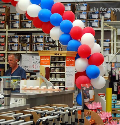 Home Depot Balloons
