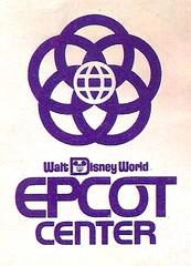EPCOT Map 1983 1