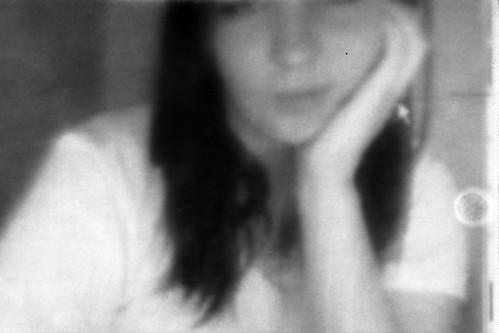 Web-photogram (El H1N5) Tags: portrait girl webcam photogram photogramme ...