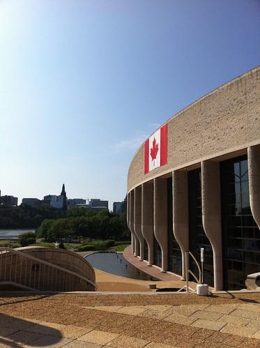カナダ文明博物館の外観