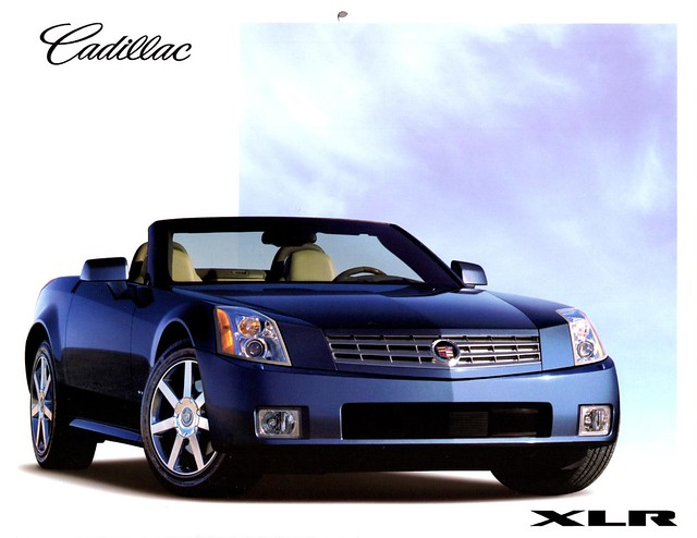 2004 calendar cadillac xlr