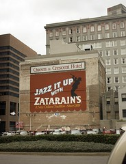 Zatarain's sign, New Orleans, LA (Yvonne M Remington) Tags: building sign zatarains neworleanslouisiana