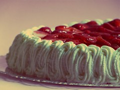 Easter strawberry cake (Francy ) Tags: cake easter strawberry torta pasqua fragole