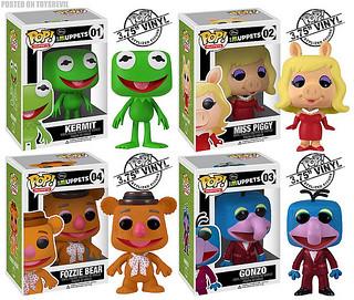 POP! Muppets 六、七年級生共同的回憶