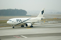 PK A310 AP-BEQ (PlaneSnapper) Tags: pakistan switzerland zurich international airlines pia kloten zrh a310 apbeq a3103