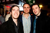 Jason Kearney, Gary Dooley adn Aidan Keaveney pictured enjoying the Coors Light Live in the Latin Quarter Weekend in Kellys on Saturday Evening Photo: Reg Gordon