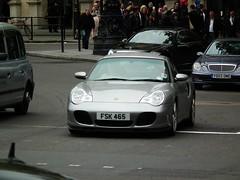Porsche (kenjonbro) Tags: uk london westminster silver trafalgarsquare porsche charingcross sw1 kenjonbro fujihs10 fsk465