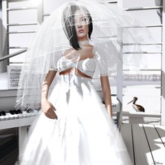 Ephesus Bridal (Atteris Amarth) Tags: art fashion photography sl secondlife myprecious wtg everglow slink zombiepopcorn minahair veromodero thebodyco