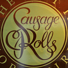 Sausage Rolls - THE BEST IN YORKSHIRE (Leo Reynolds) Tags: sign canon eos iso400 f45 7d squaredcircle 120mm 0006sec hpexif sqyork xleol30x sqset077