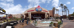 Outside the Edwards 26 ( Slices of Light   ) Tags: california urban panorama cinema mall shopping movie la losangeles los theater theatre angeles 26 sony longbeach edwards stitched regal    hx20v