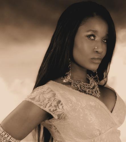 Divine Queen Sabine Indian Style