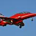 RAF Red Arrows Biggin Hill 2014 Red 3