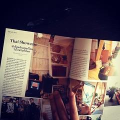 """ตามอ่านเรื่องเต็มบทความสร้างสรรค์ """"Thai Showcase"""" ของ เรวัฒน์ ชำนาญ ที่เนื้อความว่าด้วยนักคิดสร้างสรรค์ไทยที่ไปไกลในทั่วโลก กับโชว์รูมชิ้นงานออกเเบบที่กรุงโตเกียวในนิตยสารลิปส์  """"To raise new questions, new possibilities, to regard old problems from a new"""