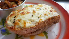 Cheesy breakfast (Roving I) Tags: toast cheese sandwiches bread friedvegetables breakfasts dining cafes cabanon danang vietnam