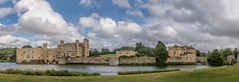 Leeds Castle panorama (James Waghorn) Tags: castle summer sigma1750f28exdcoshsm d7100 water clouds panorama kent tree leedscastle england heritage famous touristattraction